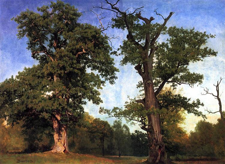 Pioneers of the Woods, 1858 - Albert Bierstadt