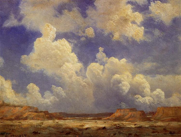Western Landscape - Albert Bierstadt