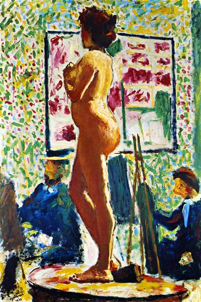 Life Class at the École des Beaux-Arts (Fauvist Nude), 1898 - Albert Marquet