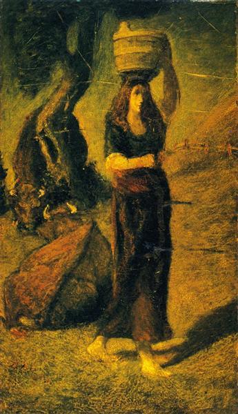 Perrette, 1890 - Albert Pinkham Ryder