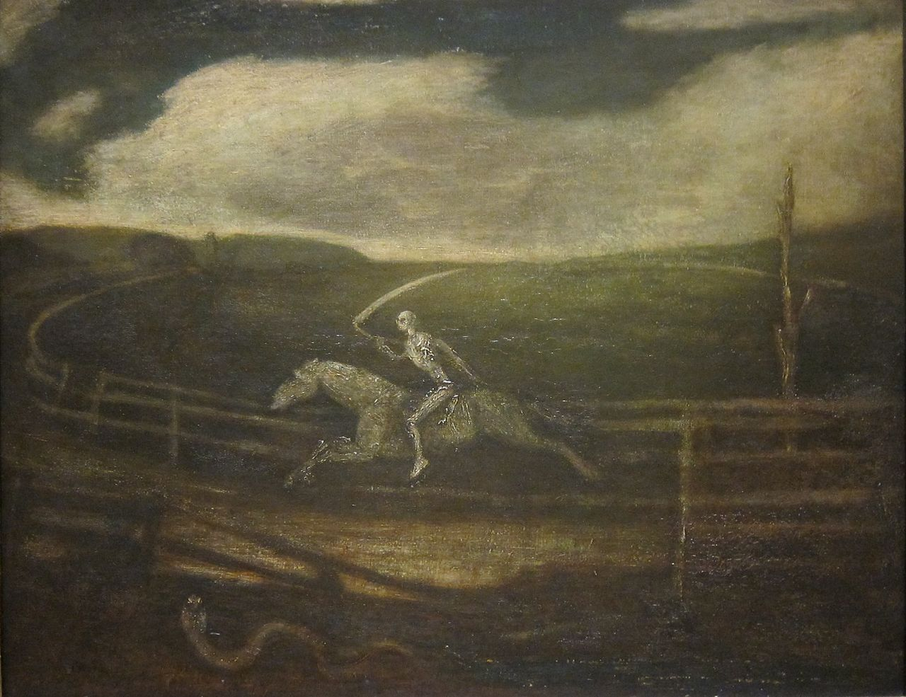 The Race Track (Death on a Pale Horse), 1900