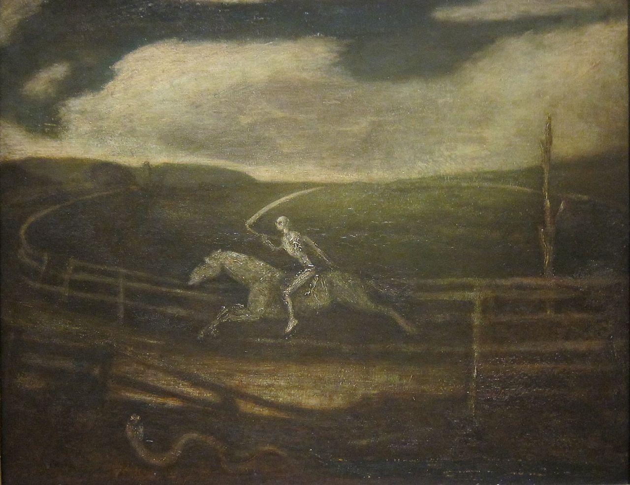 Death on a Pale Horse - Albert Pinkham Ryder