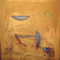 Objects on Ochre - Albert Rafols-Casamada