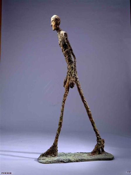The Walking Man I - Alberto Giacometti