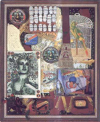 Madonna con esqueleto, 1993 - Alberto Gironella