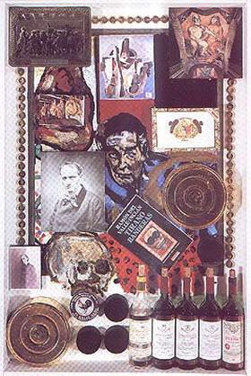 Potlash - homenaje a Octavio Paz, 1990 - Alberto Gironella