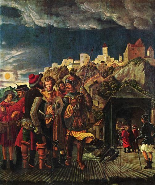 Florianresult, scenesforlegendof St.Florian, 1516 - 1518 - Albrecht Altdorfer