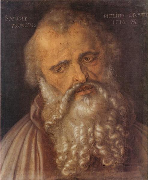 Apostle Philip, 1516 - Albrecht Durer