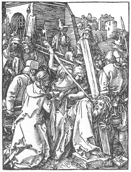 Christ Bearing the Cross, 1509 - Albrecht Durer