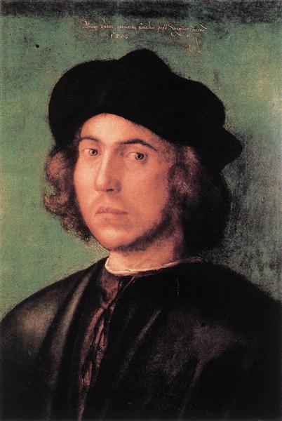 Портрет юноши, 1506 - Альбрехт Дюрер