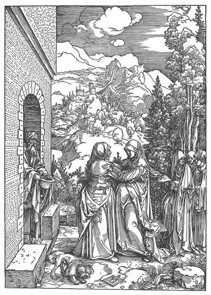 The Visitation, 1503 - Albrecht Durer