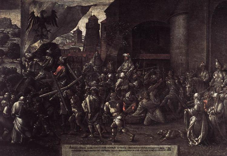Way to Calvary, 1527 - Albrecht Durer