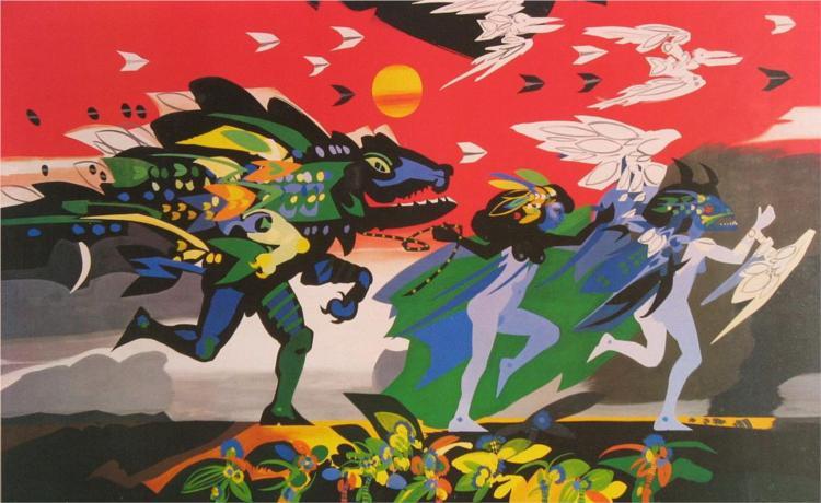 Baranquilla, 1982 - Alejandro Obregón