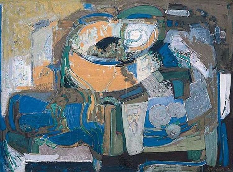 Still Life, 1956 - Alekos Kontopoulos
