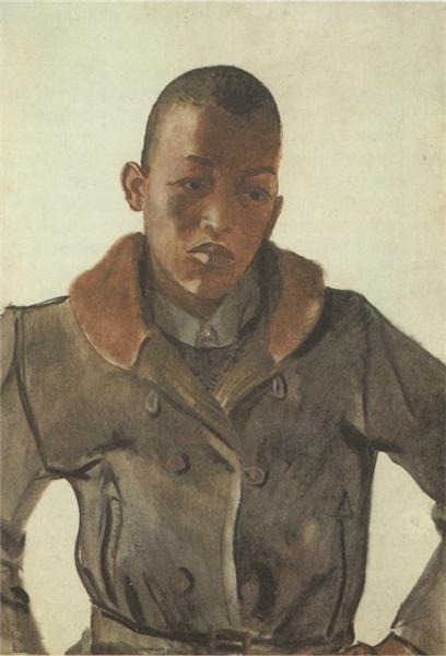 Youth Negro, 1935 - Aleksandr Deyneka