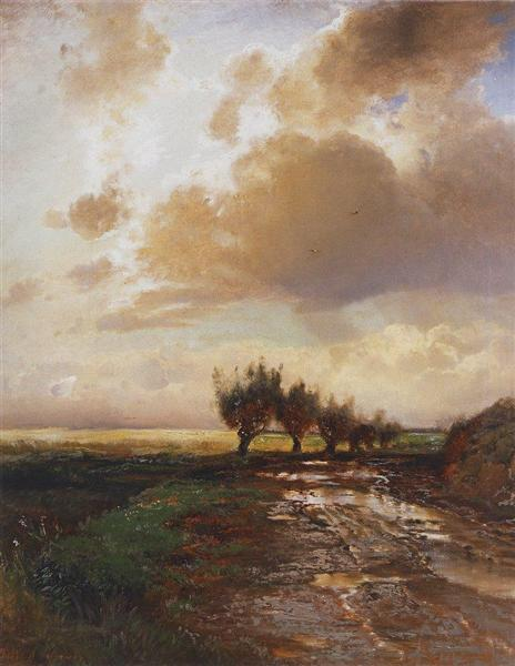 Country road, 1873 - Aleksey Savrasov