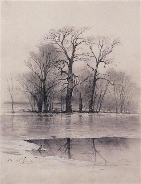 Early Spring, 1876 - Aleksey Savrasov