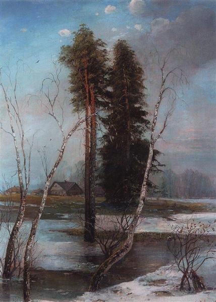 Early Spring, 1888 - Aleksey Savrasov