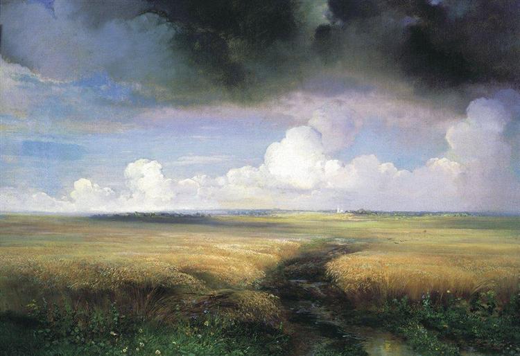 Rye, 1881 - Aleksey Savrasov