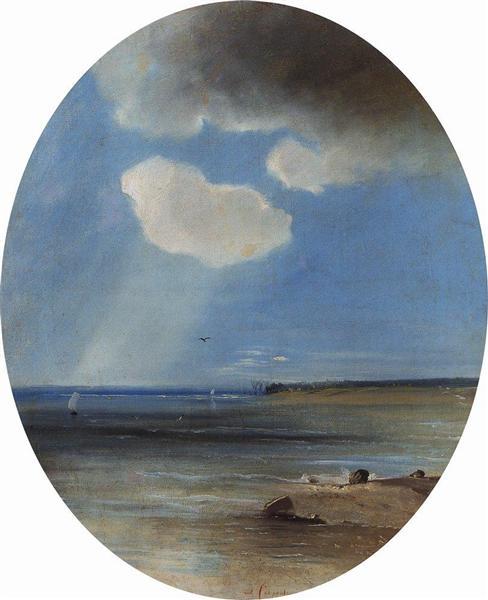 Seascape, 1880 - c.1890 - Aleksey Savrasov