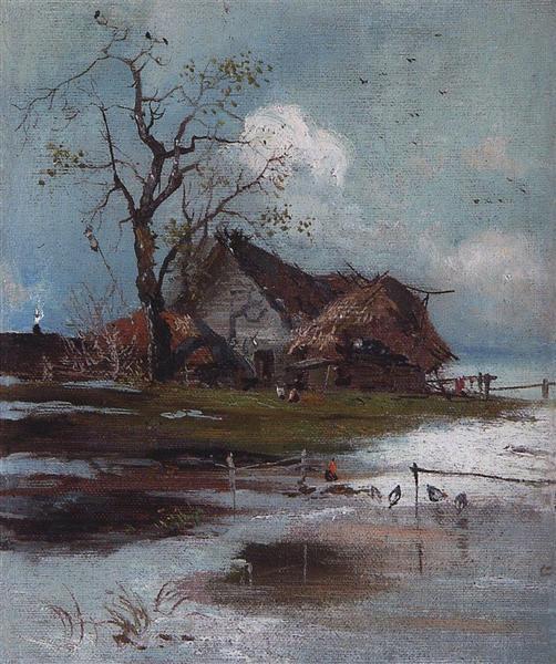 Spring, 1880 - c.1890 - Aleksey Savrasov