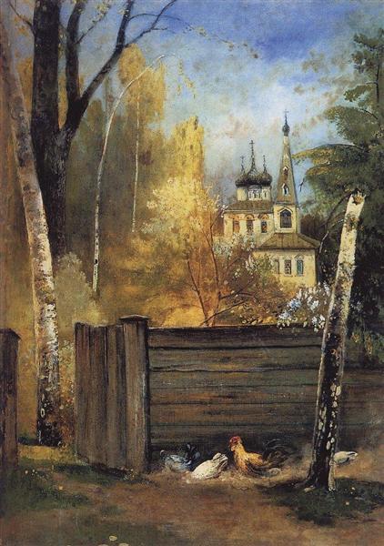 Spring, c.1880 - c.1890 - Aleksey Savrasov