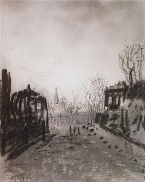 Twilight, c.1880 - Aleksey Savrasov