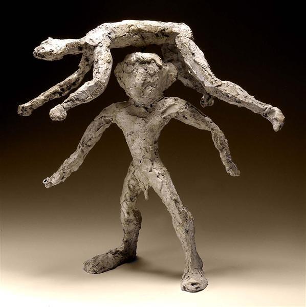 The Acrobats, 1944 - Alexander Calder