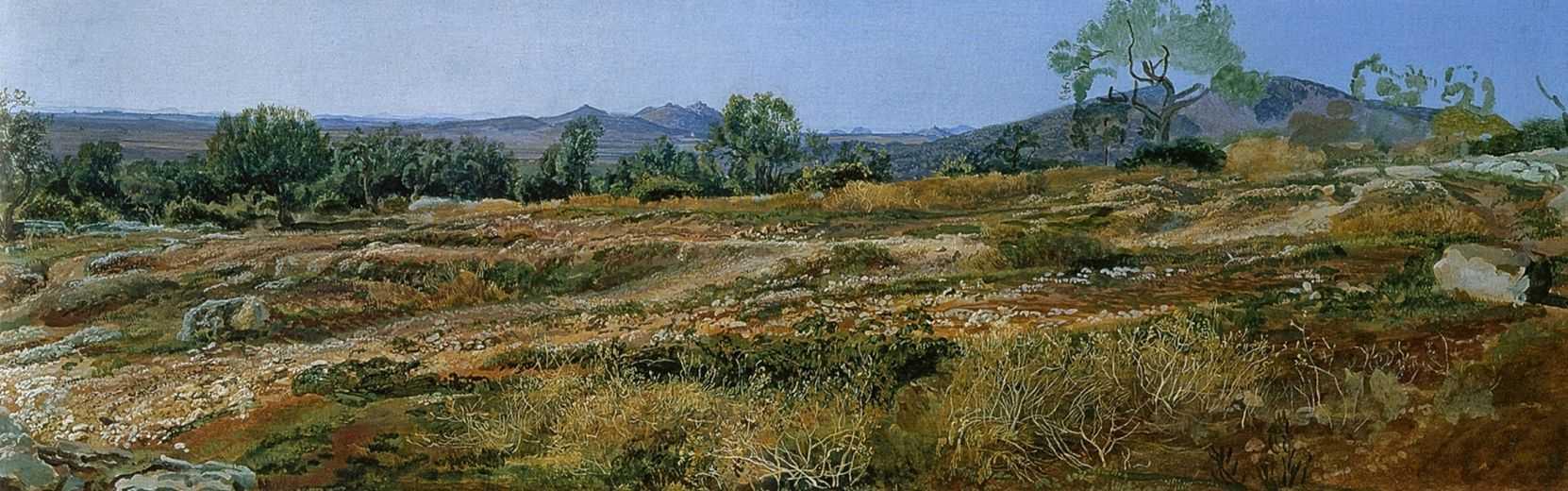 Monticelli, near Tivoli, 1843