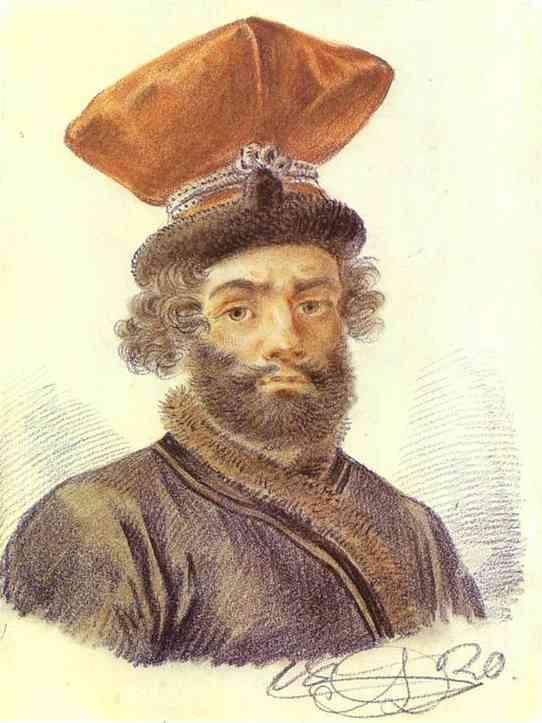 Portrait of a Cabman, 1820