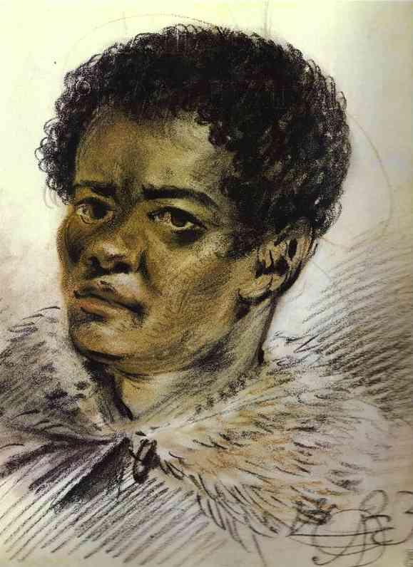 Portrait of a Negro, Orlovski's Servant, 1823