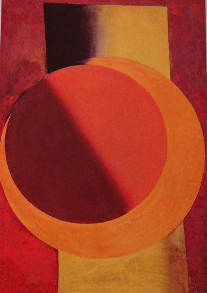 Red and Yellow, c.1918 - Alexander Michailowitsch Rodtschenko