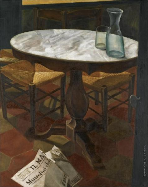 Still Life with a Table - Alexandre Jacovleff