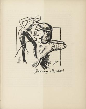 Homage to Rimbaud, 1919 - Alfred Kubin