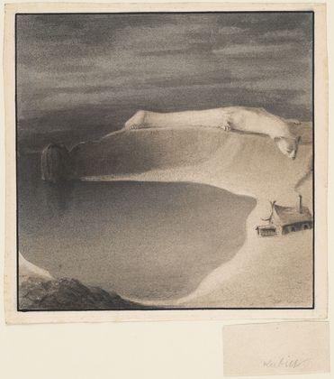 Polar Bear (Eisbär), 1902 - Alfred Kubin