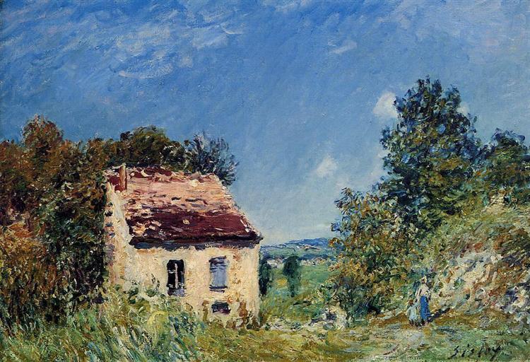 Abandoned House, 1887 - Alfred Sisley
