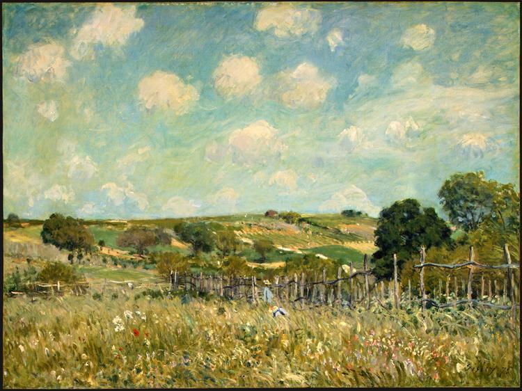 Meadow, 1875 - Alfred Sisley