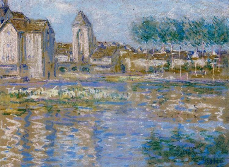 Moret sur Loing, 1888 - 1892 - Alfred Sisley