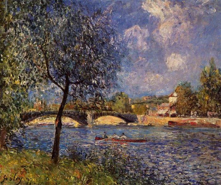 Rowers, 1877 - Alfred Sisley
