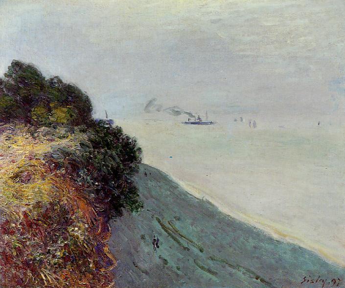 The English Coast, Penarth, 1897 - Alfred Sisley