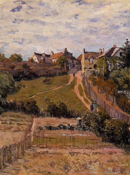 The Rising Path, 1875 - Alfred Sisley
