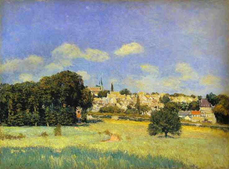 View of St Cloud, 1876 - Alfred Sisley