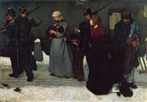 What is Called Vagrancy or, The Hunters of Vincennes - Alfred Stevens