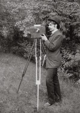 Self-portrait, 1886 - Alfred Stieglitz