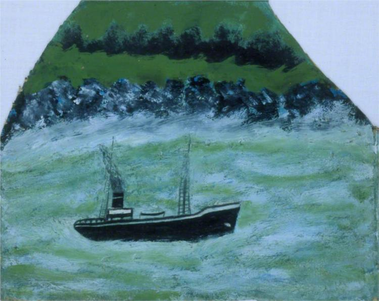 Boat on the Sea, 1937 - Alfred Wallis