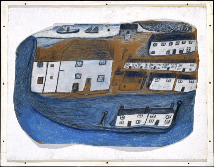 St Ives, 1928 - Alfred Wallis