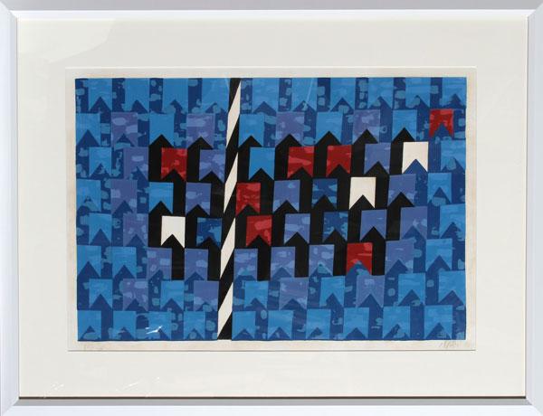 Bandeirinhas estruturadas, 1970 - Альфредо Волпі