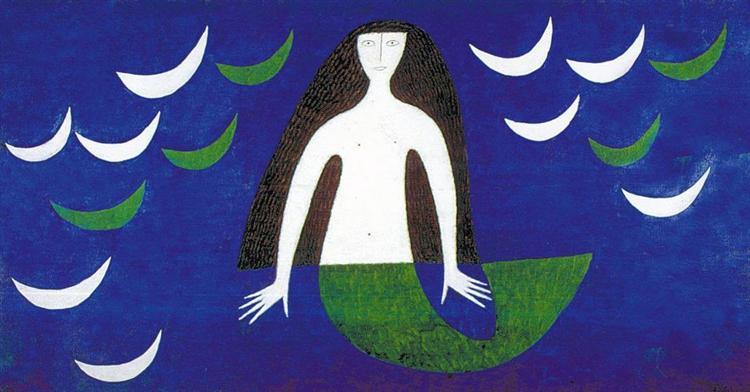 Sereia, 1960 - Alfredo Volpi
