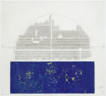 The New China Drawing: The World Above, The World Below, 1984 - Alice Aycock