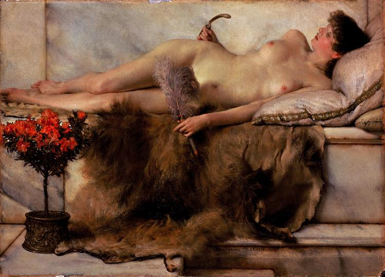 In the Tepidarium, 1881 - Lawrence Alma-Tadema